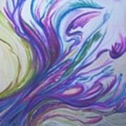 Seaweedy Art Print