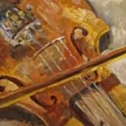 Secondhand Violin Art Print