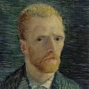 Self-portrait Paris July  August 1887 Vincent Van Gogh 1853  1890  Art Print