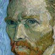 Self-portrait Art Print by Vincent Van Gogh
