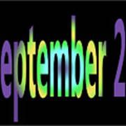 September 27 Art Print