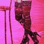 Sexy Legs Pop Art Art Print