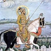 Shah Jahan (1592-1666) Art Print