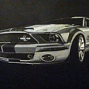 Shelby Mustang Front  Art Print