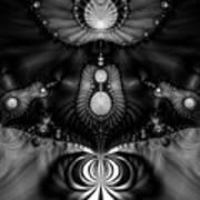 Shell Realm Art Print