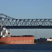 Shipping - New Orleans Louisiana Art Print