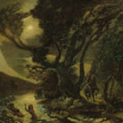 Siegfried And The Rhine Maidens Art Print