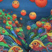 Sillyfish 2 Art Print by Barbara Stirrup