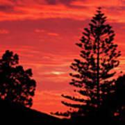 Simple Sunset Art Print