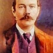 Sir Arthur Conan Doyle, Literary Legend Art Print