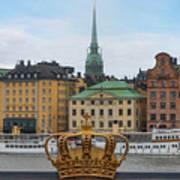 Skeppsholmsbron - Stockholm Art Print