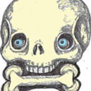 Skullnbone Art Print