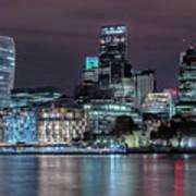Skyline Of London Art Print
