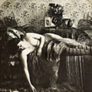 Sleeping Woman, C1900 Art Print