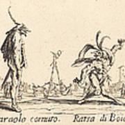 Smaralo Cornuto And Ratsa Di Boio Art Print