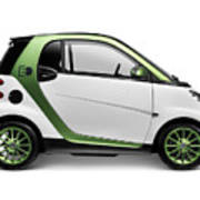Smart Fortwo Electric Drive Art Print