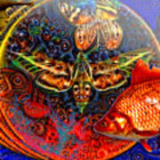Solar Ocean Art Print