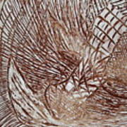 Solemn - Tile Art Print