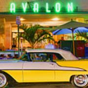 South Beach Classic Art Print
