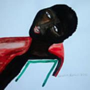 South Sudan Bride Art Print