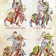 Spain: Knights, C1350 Art Print