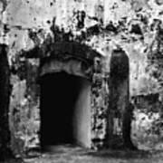 Spanish Fort Doorway Art Print
