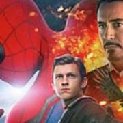 Spider-man Homecoming Art Print