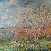 Spring Art Print by Claude Monet