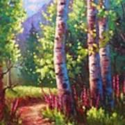 Spring Path Art Print