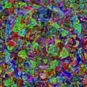 Squareousel Art Print