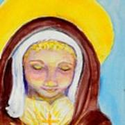 St. Clare Of Assisi Art Print