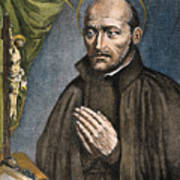St. Ignatius Of Loyola Art Print