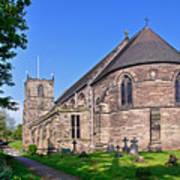 St Mary's Church - Tutbury Art Print