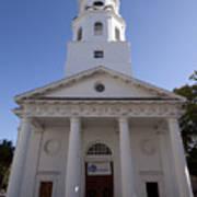 St Michaels Church Charleston Sc Art Print