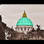 St. Peters Basilica Art Print