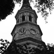 St. Philips Church Steeple Art Print