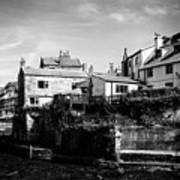 Staithes Village Art Print