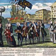 Stamp Act: Repeal, 1766 Art Print