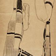 Standing Girl Art Print