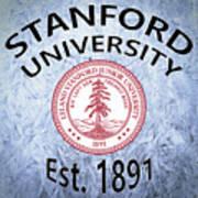 Stanford University Est. 1891 Art Print