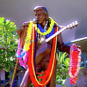 Statue Of, Elvis Presley - Honolulu, Hawaii  Art Print