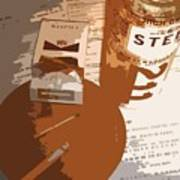 Steel Reserve Art Print