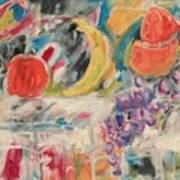Still Life With Fruit Art Print