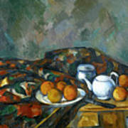 Still Life With Teapot Art Print