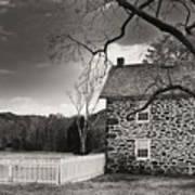 Stone Farmhouse Art Print