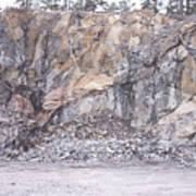 Stone Mine Art Print