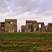 Stonehenge England United Kingdom Uk Art Print