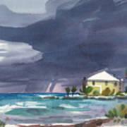 Storm Over Key West Art Print