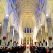 St.patricks Cathedral Restored Art Print
