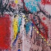 Stringed Abstract Art Print